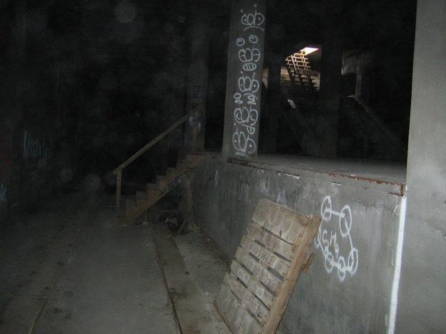 Cincinnati Subway Entrance.
