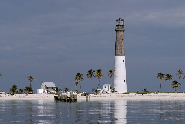 The Dry Tortugas Lighthouse on Loggerhead Key
