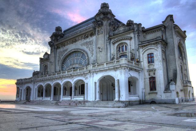 Constanța Casino at sunrise.Author:DjphazerCC BY-SA 3.0 ro