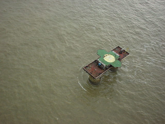 The Principality of Sealand claims to be an independent nation. – By Ryan Lackey – CC BY 2.0