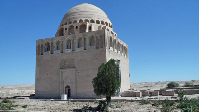 Sultan Sanjar Mausoleum.Author:HergitCC BY-SA 3.0