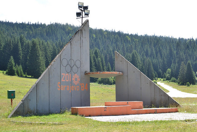 Olympic Symbol 1984 near Sarajevo. Author: Paul Jeannin CC BY-NC-ND 2.0