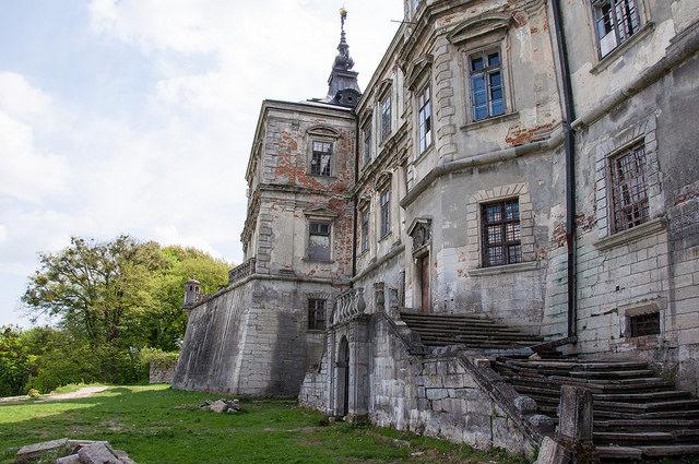 Pidhirtsi Castle yard.Author: Bo&KoCC BY-SA 2.0