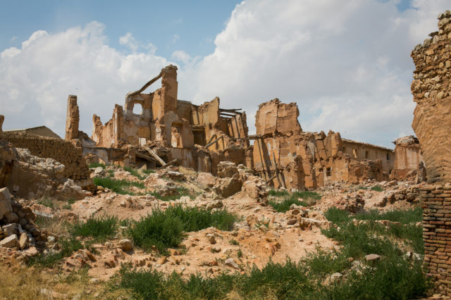 Ruins of Belchite. Author:_dChris CC BY2.0