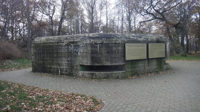 Abandoned military bunker in the Karelian Fortified Region. Author:Bogdanov-62 CC BY-SA 4.0