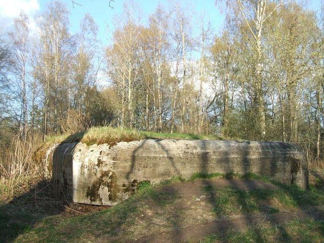 Abandoned military bunker in the Karelian Fortified Region.