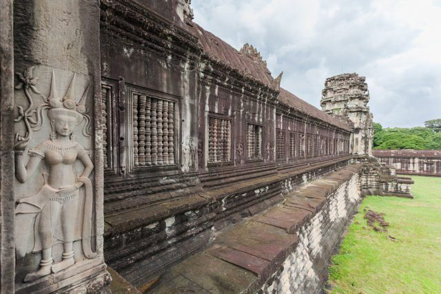 The first level at Angkor Wat. Author: Diego Delso CC BY-SA 3.0