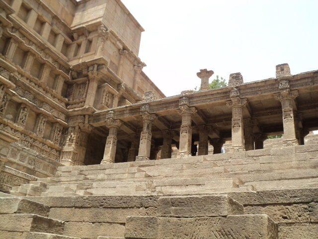 The upper side of Rani-ki-Vav. Author:Harsh PatelCC BY-SA 3.0