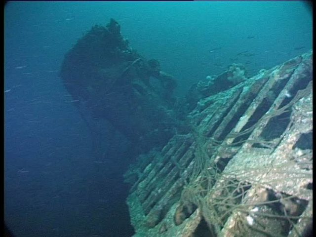 Another gratuitous shot of this incredibly intact U-boat wreck (Innes McCartney).