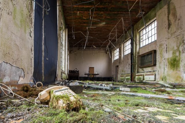 Abandoned building. Author: Jonk Photography