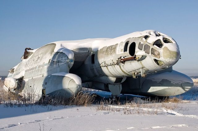 Beriev VVA-14 experimental amphibious aircraft in Central Air Force Museum, Monino. Author: Alex Beltyukov CC BY-SA 3.0