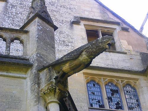 Gargoyle sculpture – Woodchester Mansion. Author: SmoobsCC BY 2.0