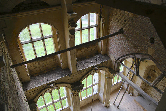 Woodchester Mansion – unfinished within. Author: KathrynW1CC BY-ND 2.0