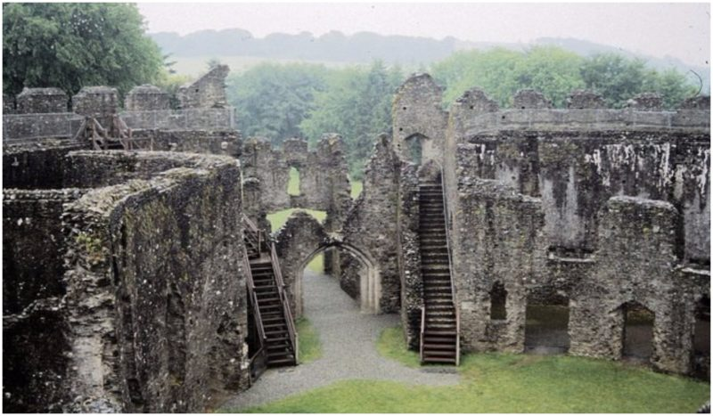 Notable for its perfect circular design, Restormel Castle is one of the oldest and best preserved Norman motte-and-bailey castles in Cornwall