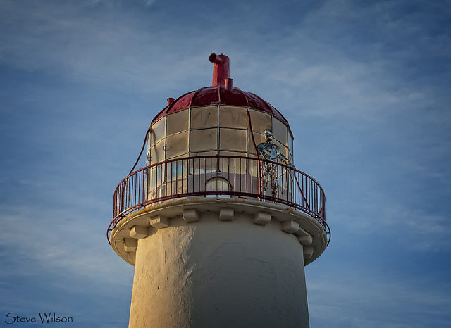 The Keeper of the Lighthouse. Steve Wilson, CC-BY 2.0