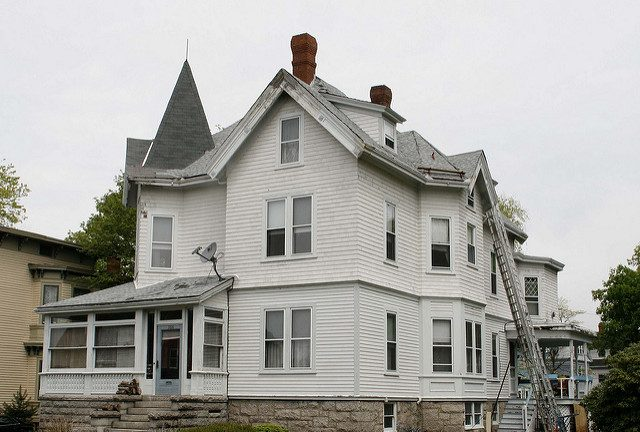 """""""Maplecroft"""" – Lizzie Borden later house where she lived until she died. Author: dbkingCC BY 2.0"""