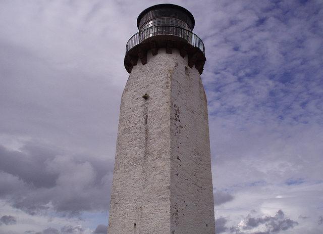 Southerness Lighthouse, Scotland. KFCSpike, cc-by sa 2.0