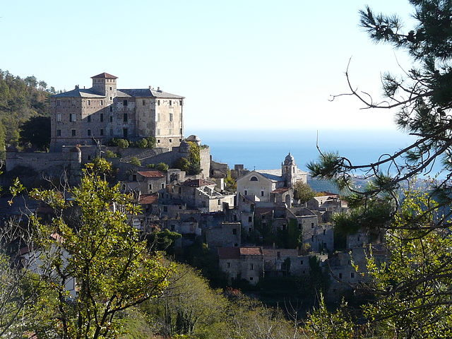 View of the old village of Balestrino. Author:Davide PapaliniCC BY-SA 3.0