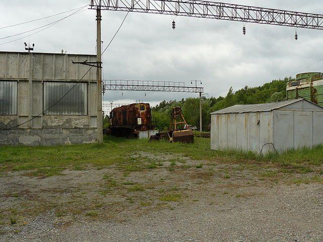 One of the many train graveyards. Author:JbuketCC BY-SA 3.0