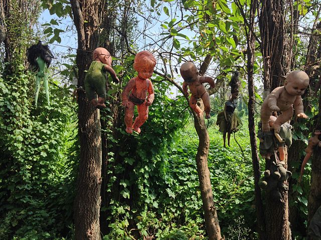 Drying dolls.Author:Wa17gsCC BY-SA 4.0