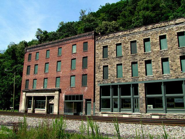 Historic District – Thurmond, West Virginia. Author:bobistravelingCC BY 2.0