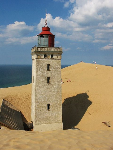 Lighthouse Rubjerg Knude, Denmark, 2004.Tomasz Sienicki, CC-BY 3.0