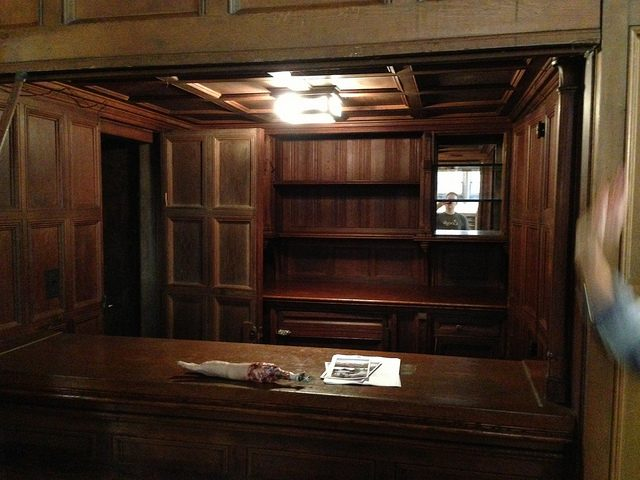 Greystone hidden bar.Author:adpowersCC BY 2.0