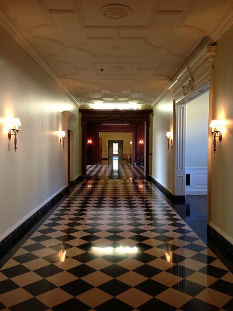 Greystone hallway.Author:adpowersCC BY 2.0