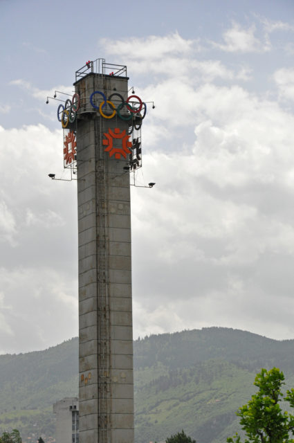 Olympic Tower in Sarajevo. Author: Jennifer Boyer CC BY 2.0
