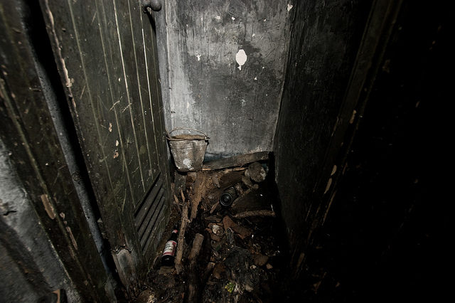 Inside the ruined Culham ROC Post.Author:True British Metal CC BY-NC-SA 2.0