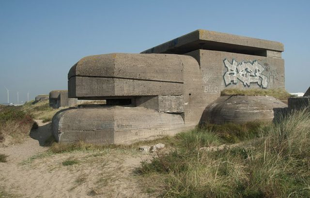 Abandoned Bunker. Author:Arwin MeijerCC BY-SA 3.0