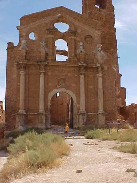 Belchite: ruins of the old town. Author:Ovidio CalvoCC BY-SA 3.0