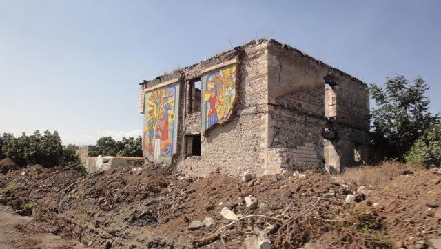 Ruins of Bread Museum, Agdam, Azerbaijan. Author:DivotCC BY-SA 3.0