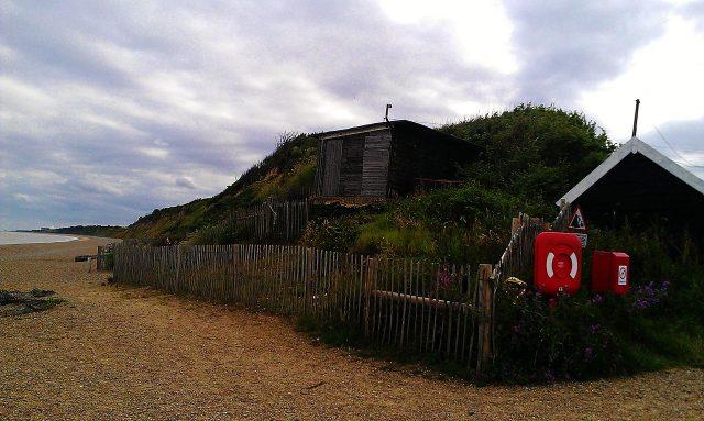 The beach at Dunwich in Suffolk. Summer 2012.Author:MidnightblueowlCC BY-SA 3.0