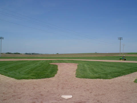 View from behind home plate.Author:Jesster79CC BY-SA 3.0
