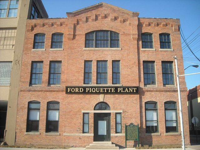 Ford Piquette Plant – Front View.