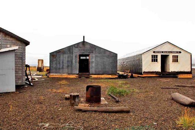 Former whaler station. Author:Ansgar Walk CC BY-SA 3.0