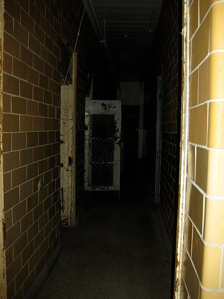 Hallway of the most notorious male patients.Author:Richie DiesterheftCC BY 2.0