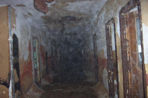 Inside the Glenn Dale Hospital.