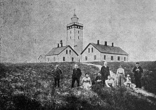 Lighthouse Rubjerg Knude, 1912
