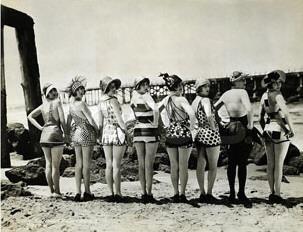 Mack Sennett's Bathing Beauties.
