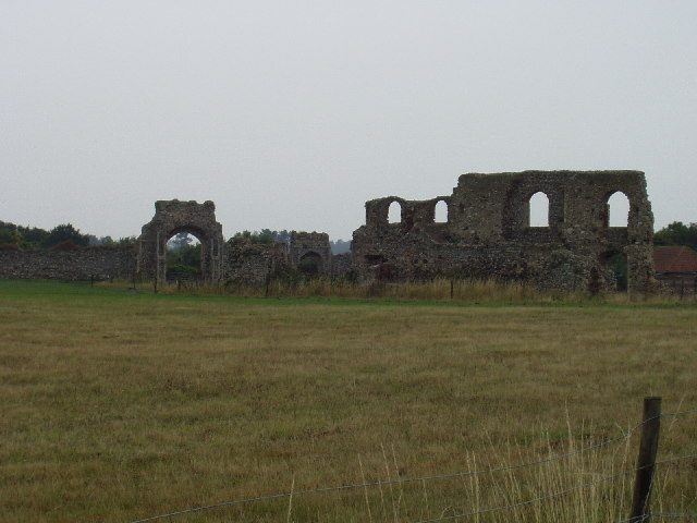 Remains of Franciscan Monastery, Dunwich.Author: Ivor Branton CC BY-SA 2.0