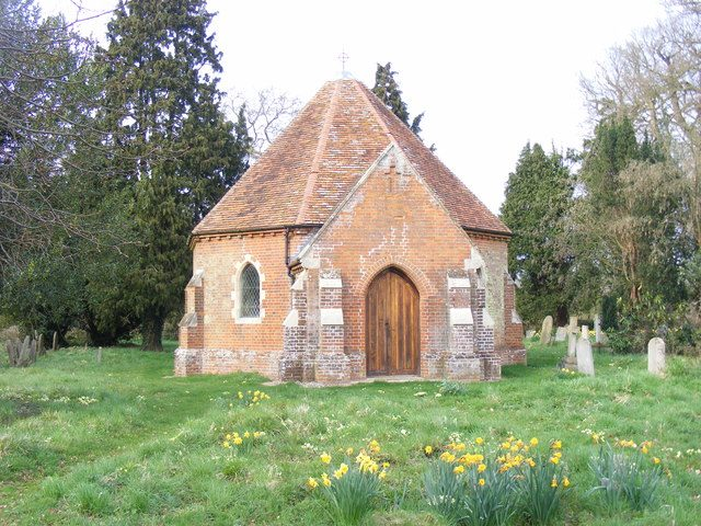 Sotterley Cemetery Chapel. Author:Stuart ShepherdCC BY-SA 2.0