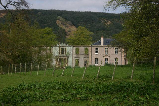 Darleith House in Cardross, the seminary's temporary home. Author: George Rankin CC BY-SA 2.0