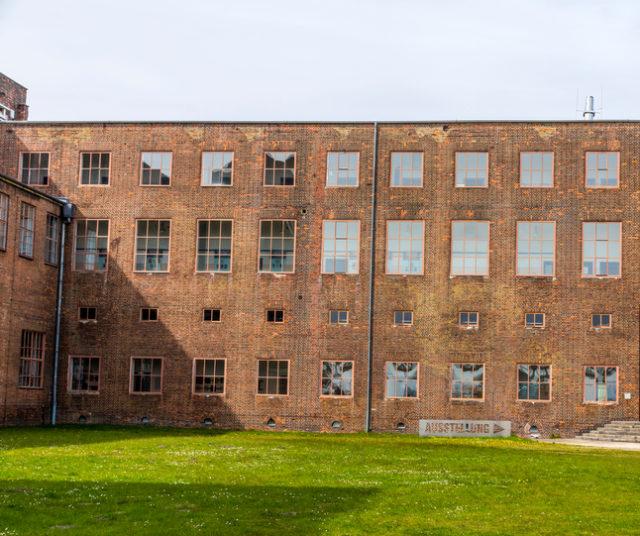 Old German WW2 V2 rocket-factory in Peenemunde