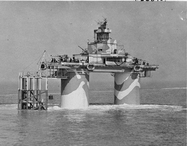 Navy fort in active service