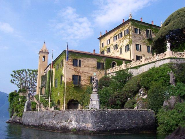 The Villa del Balbianello.Author:MarkusMarkCC BY-SA 3.0
