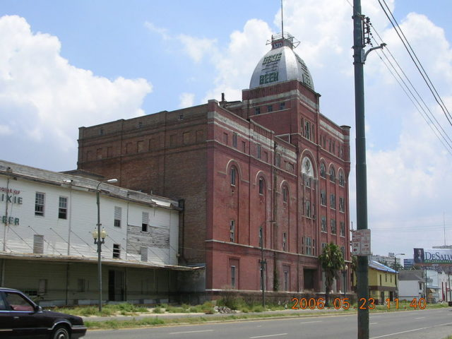 Dixie Brewery, 2401 Tulane Avenue; post-Katrina photograph