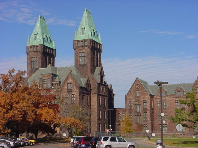 Photo of the H. H. Richardson Complex at Buffalo, New York.Author:ShinerunnerCC BY-SA 3.0