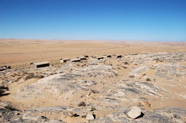 The main view of Kolmanskop. Author: Joachim Huber CC BY-SA 2.0